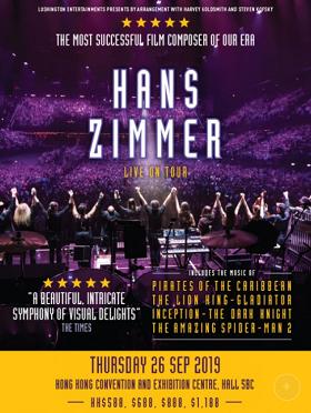 Hans Zimmer Live on Tour Hong Kong 香港音乐会 2019