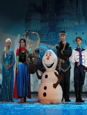 大型童话音乐人偶剧 《冰雪奇缘》爱莎的魔法秘密