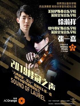 """2019桂冠之声--""""古典遇见二次元""""徐瀚祥&张一嘉钢琴小提琴巡回演奏会-重庆站"""