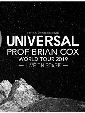 PROFESSOR BRIAN COX UNIVERSAL WORLD TOUR 2019-香港站