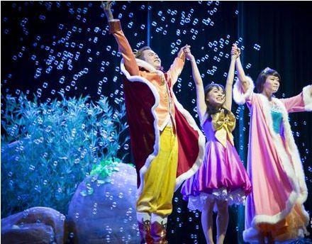 大型亲子情感儿童舞台剧《白雪公主之魔发小公主》