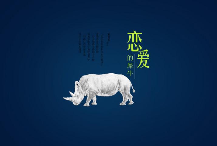 恋爱的犀牛吉他谱_恋爱中的犀牛