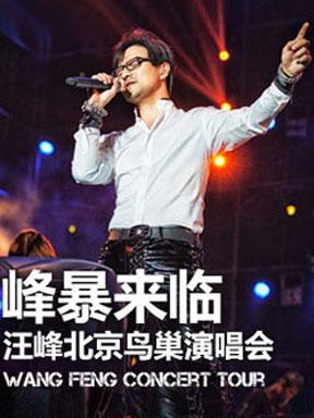 """汪峰2014""""峰暴来临""""-""""新途观感悟之旅""""北京鸟巢演唱会"""