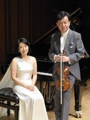 盛中国、濑田裕子小提琴钢琴名曲音乐会