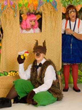 故事书剧团迷你儿童剧《两只小猪和狼》