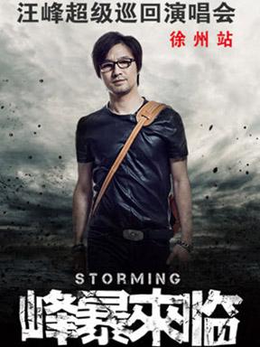 """汪峰•2014""""峰暴来临""""超级巡回演唱会徐州站"""