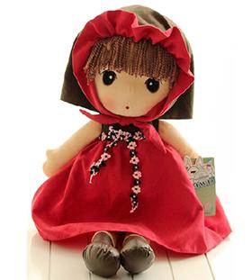 小红帽毛绒玩具玩偶