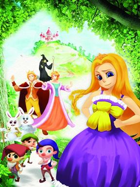 原创大型哲理儿童人偶剧《白雪公主续-魔发小公主》