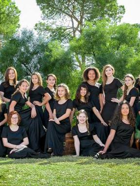 美国亚利桑那少女合唱团音乐会