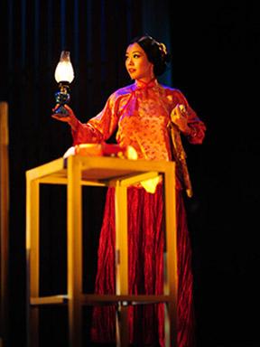 香港焦媛实验剧团---话剧《金锁记》