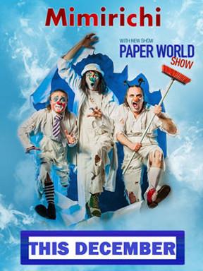 海峡儿童戏剧艺术节精选剧目《Paper World 疯狂的废纸世界》