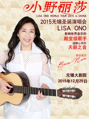 小野丽莎2015无锡圣诞演唱会
