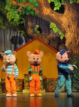 饭米粒亲子系列•《三只小猪》