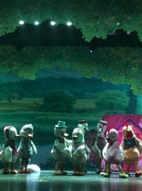 饭米粒亲子系列 互动卡通舞台剧《丑小鸭》