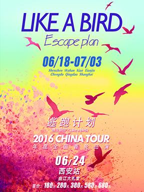 """逃跑计划2016""""LIKE A BIRD""""巡回演唱会西安站"""