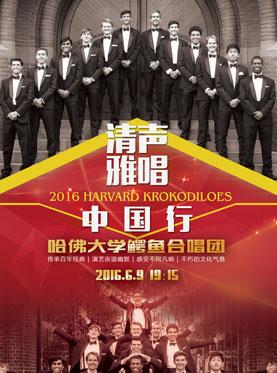 """""""清声雅唱中国行""""哈佛鳄鱼合唱团大连演唱会"""