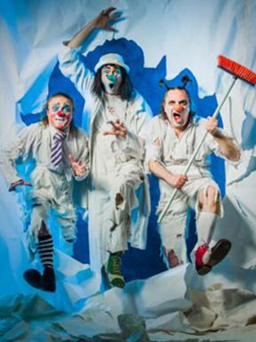 乌克兰国宝级喜剧剧团Mimirichi访华演出 互动滑稽默剧《Paper World疯狂的废纸世界》