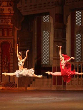 乌克兰哈尔科夫国家芭蕾剧院携手马林斯基首席《舞姬》