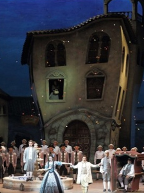 国家大剧院制作意大利罗西尼歌剧《塞维利亚理发师》