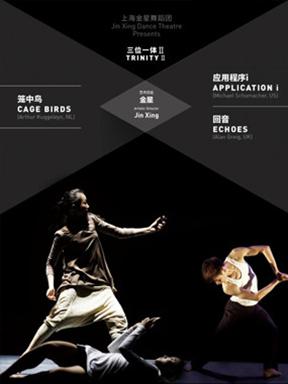 上海金星舞蹈团现代舞《三位一体Ⅱ》重庆站