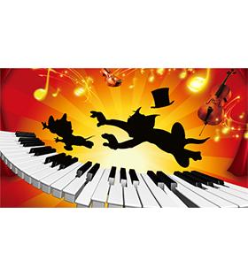 """天利音乐""""猫和老鼠的贝多芬""""—世界钢琴名曲快乐视听音乐会"""