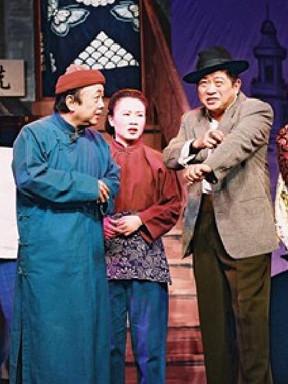 第十届东方名家名剧月上海市人民滑稽剧团王汝刚、毛猛达领衔主演大型经典滑稽戏《七十二家房客》